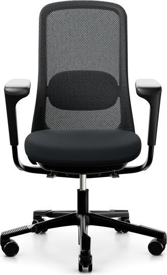 Kontorstol HÅG SoFi mesh 7500, svart understell, svart