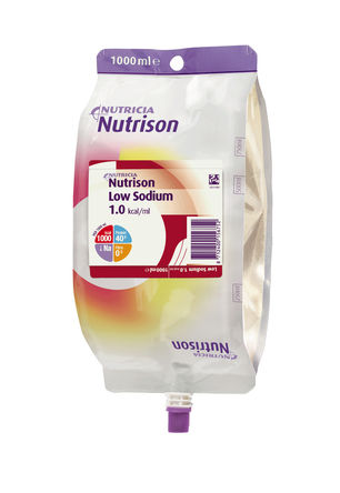Nutrison Low Sodium nøytral 1000ml