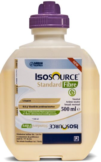 Isosource Standard Fibre nøytral 500ml