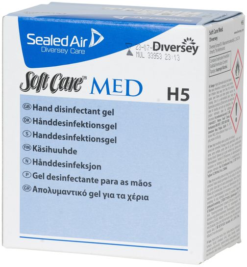 Hånddesinfeksjon 800ml gel til dispenser
