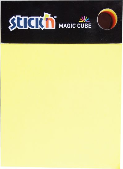 Stick'n magic cube 70x40mm assorterte farger